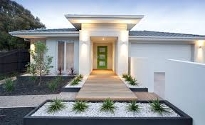 In Front Yard - forget the traditional look u2013 modern front yard landscaping ideas
