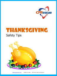 thanksgiving safety tips cpr certification san jose