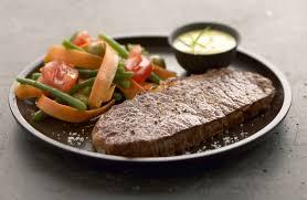 cuisine salade faux filet de bœuf et sa salade d été recettes de cuisine la