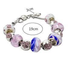 pandora glass bracelet images 925 silver murano glass swarovski crystal pandora charm bracelet jpg