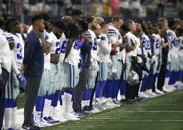 Dallas Cowboys American Flag Jerry Jones Says Dallas Cowboys U0027disrespecting The Flag U0027 Won U0027t Play