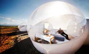 chambres bulles un hotel bulle en plein désert en espagne voyage insolite