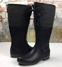 s ugg australia black elsa boots tallulah leather booties leather booties color swatches and taylors