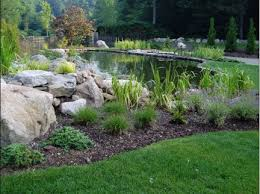 design of pond landscaping ideas landscaping pond ideas