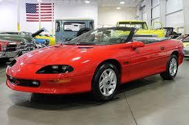 1995 chevy camaro convertible 1995 chevrolet camaro gr auto gallery