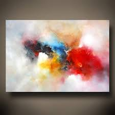 abstract oil painting past present art