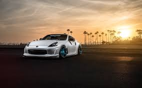 Nissan 370z Avant Garde Wheels Wallpaper Hd Car Wallpapers