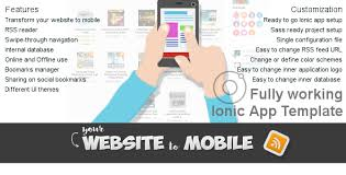 website to mobile ionic application template by psddude codecanyon