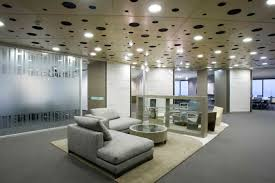 Office Interior Design Ideas Modern Decor Cool Modern Office Design Ideas With Recessed Lighting And