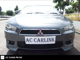 used mitsubishi lancer for sale buy used mitsubishi lancer 2 0l mivec gls 6 cvt car in singapore