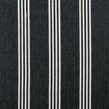 Black Ticking Curtains Ticking Fabric Ebay