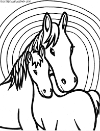 awesome horses coloring pages gallery kids ide 1847 unknown