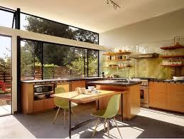 kitchen eat in kitchen design features wood laminated kitchen