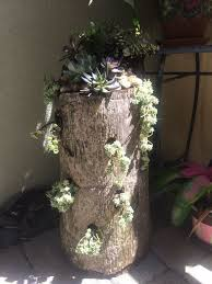 Pictures Of Tree Stump Decorating Ideas 10 Best Palm Tree Stumps Repurposed Images On Pinterest Tree
