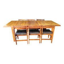 Memphis Modern Simple Dining Room Vintage U0026 Used Dining Table U0026 Chair Sets Chairish