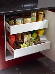 tiroir interieur cuisine intérieur amorti blanc h 70 mm brico dépôt