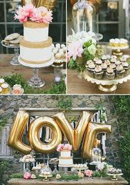pink and gold cake table decor pink wedding colors stylish wedd blog
