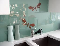 Large Glass Tile Backsplash For The Kitchen Kitchen Ideas - Large tile backsplash