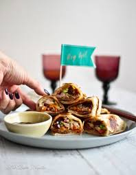 canape ideas nigella peking duck roti wrap canapes not quite nigella