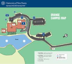 Boston College Campus Map by Orange Campus Map Driving Directions Parking And Shuttle