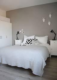 chambre gris noir et blanc chambre scandinave réussie en 38 idées de décoration chic