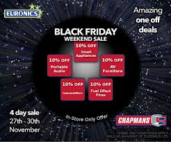 furniture black friday sales 10 percent off many items in chapmans black friday weekend sale