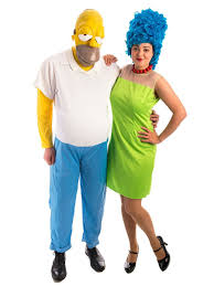 Marge Simpson Halloween Costume Homer Marge Simpson Couple Costume Creative Costumes