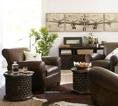 Cowhide Rug In Living Room Cowhide Rug Pottery Barn
