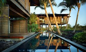 tropical residential modernist architecture hawaii coconut