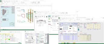 Civil Floor Plan by Civil Engineering Spreadsheet Collection
