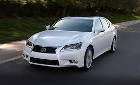 lexus gs 450h awd 2013 lexus gs450h hybrid test review car and driver