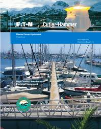Marine Power Pedestals Marina Power Equipment Brochure Eaton Pdf Catalogues