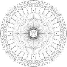 Lotus Flower Mandala Coloring Pages Batch Coloring Mandala Flowers Coloring Pages