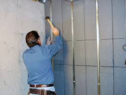 everlast basement wall panels diy use paint texture to cover