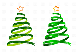 ribbon christmas tree clip art search cliparts images