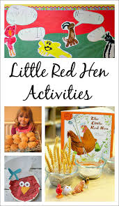 14 little red hen activities