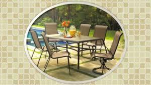 Kohls Patio Chairs by Kohls Coronado Rectangular Tile Top Dining Table Youtube