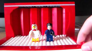 How To Make A Stage Curtain How To Build A Lego Stage Youtube