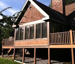 3 season porches screen porch to 3 season porch c g construction co