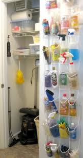 Cleaning Closet Ideas 20 Savvy Ways To Stay Organized Utility Closet Organizing And