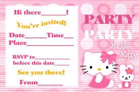 unique party party invitations enchanting hello kitty party invitations ideas hi