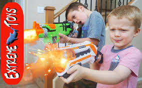 testing nerf gun toys star wars blasters the second experiment