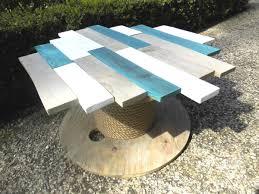 touret bois deco tuto fabriquer une table à partir d u0027un touret u2013 réveillez vos