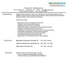 resume exles for customer service exles of customer service lovetoknow