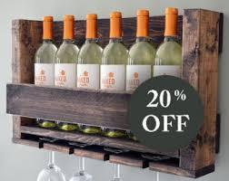 sale wall mounted wine rack holder wine glass holder