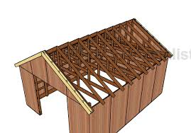 Pole Barn Roofing 16x20 Pole Barn Roof Plans Howtospecialist How To Build Step