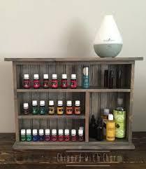essential oil shelf large essential oil storage shelf bathroom