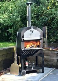 Chiminea With Pizza Oven Cove Outdoor Pizza Oven Bbq Smoker Stainless Steel Ebaybbq Combo