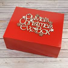 red empty christmas eve box prezzely