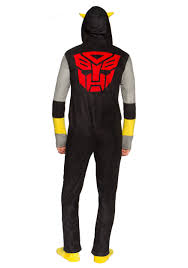 transformers bumblebee union suit